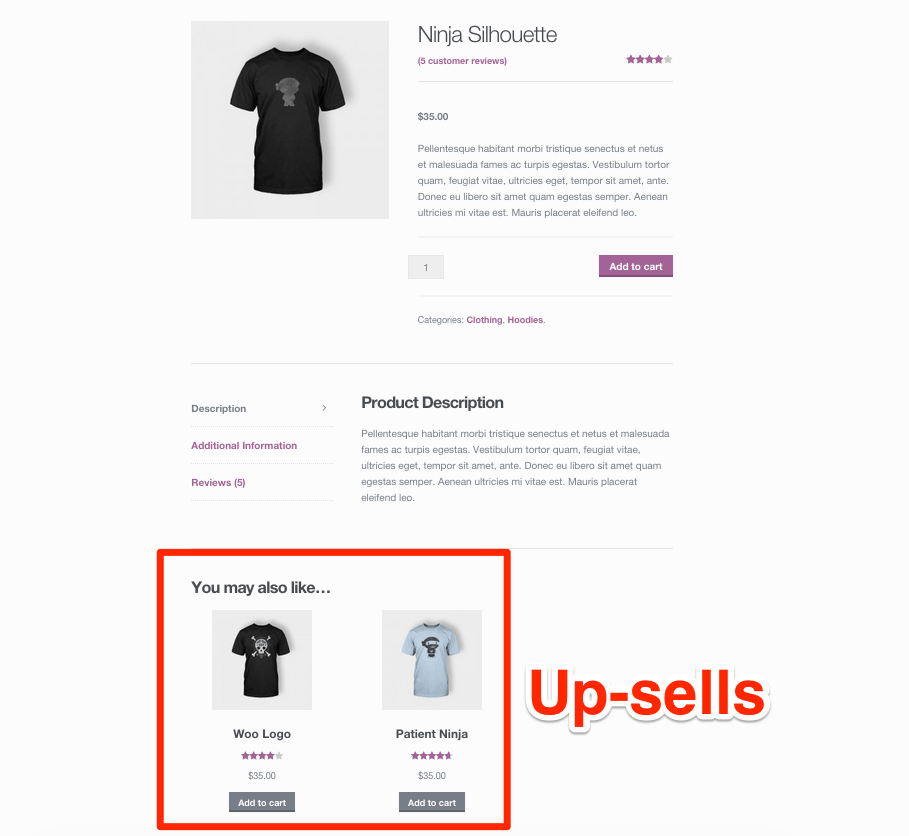 WooCommerce-Up-Sells