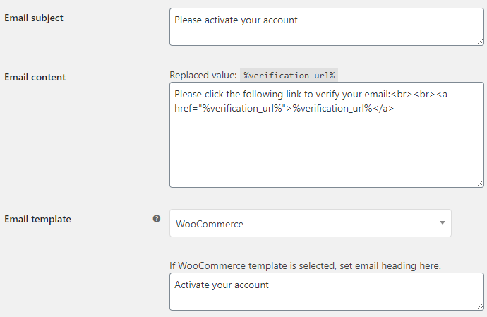 14. Email Verification for WooCommerce