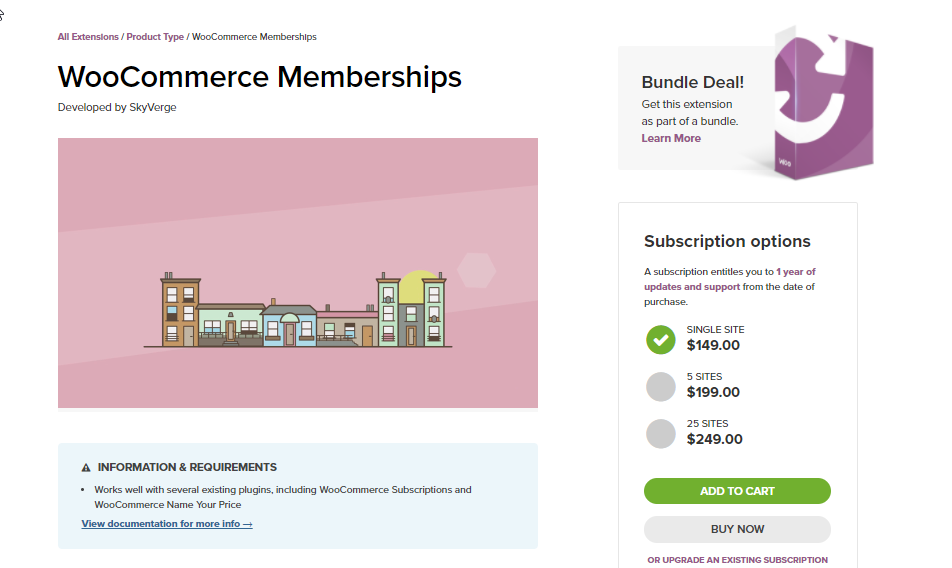 woocommerce membership by skyverge
